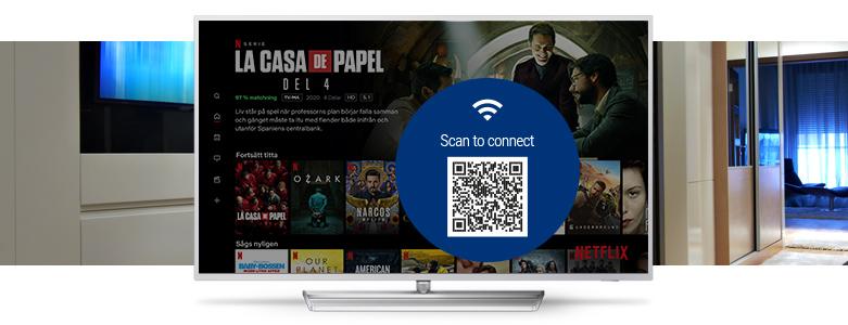 Philips Tv med indbygget chromecast